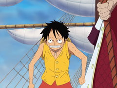 (Sub) Even if It Means Death! Luffy Vs. The Navy, the Battle Starts! image