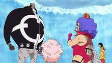 One Piece 469: (Sub) Kuma's Transformation! Ivan-san's Blow of Anger!
