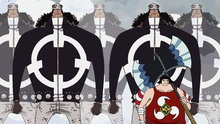 One Piece 471: (Sub) The Extermination Strategy in Action! the Power of the Pacifistas!