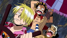 One Piece 165: (Dub) Jaya, City of Gold in the Sky! Head for God's Shrine!