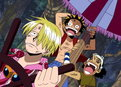 One Piece: (Sub) Jaya, City of Gold in the Sky! Head for God's Shrine!