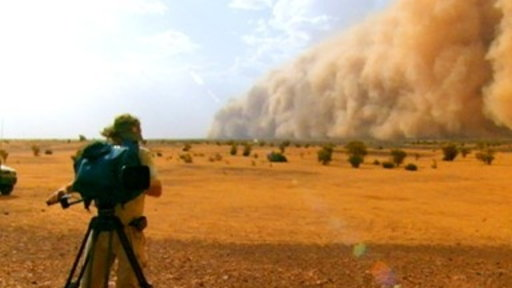 Shooting in a Dust Storm