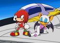 Sonic X: (Sub) Sonic Vs. A Monster from Underground