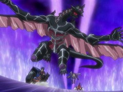 (Sub) Dark Synchro! Show Yourself, One-Hundred Eye Dragon Image