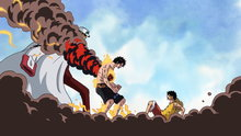 One Piece 483: (Sub) Looking for the Answer! Fire Fist Ace Dies On the Battlefield!