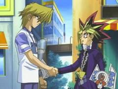 Yugi Vs. Rare Hunter, Part 2, up Against Exodia Image