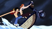 One Piece 191: (Sub) Knock Over Giant Jack! Last Hope for Escape!