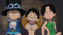 One Piece 497: (Sub) Leaving the Dadan Family for Good?! the Kids' Hideout Has Been Built!