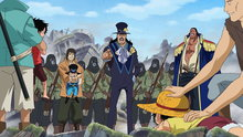 One Piece 500: (Sub) Freedom Taken Away! the Nobles' Plot Closing in On the Brothers!
