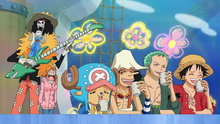 One Piece 524: (Sub) Deadly Combat Under the Sea! the Demon of the Ocean Strikes!