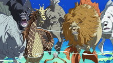 One Piece 526: Undersea Volcanic Eruption! Drifting to the Fish-Man Island!