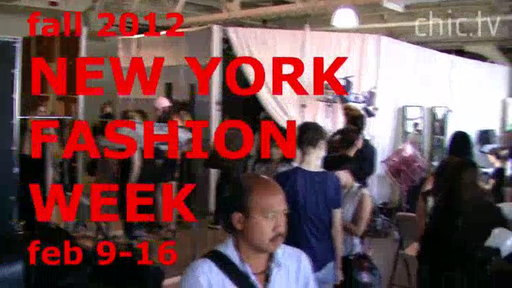 New York Fashion Week: Fall 2012, Promo 3