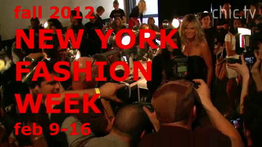 New York Fashion Week: Fall 2012, Promo 1