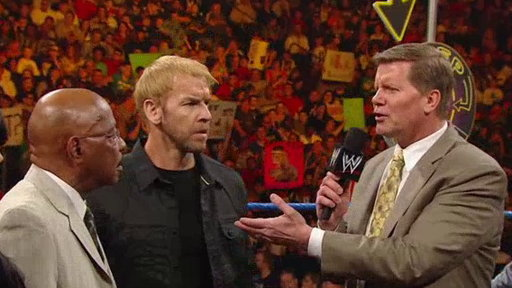 "Christian and ""The Peep Show"" Return to SmackDown With Special Guests John Laurinaitis and Theodore Long"