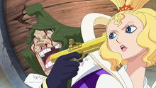 One Piece 545: (Sub) Shaking Fish-Man Island! a Celestial Dragon Drifts In!