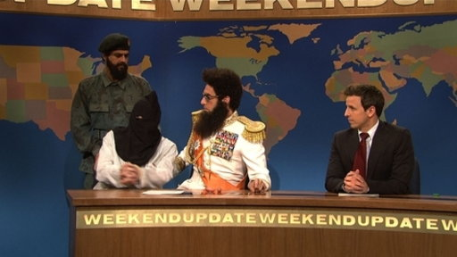 Weekend Update: Admiral General Aladeen