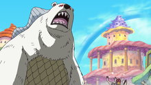 One Piece 550: (Sub) Something Has Happened to Hordy! the True Power of the Evil Drug!