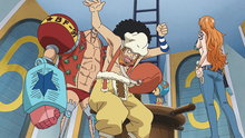 One Piece 556: Unveiled! the Secret Weapons of the Sunny!