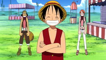 One Piece 212: (Sub) A Barrage of Red Cards in Groggy Ring!