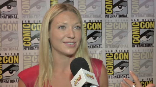 Anna Torv in the Press Room