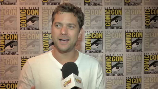 Joshua Jackson in the Press Room