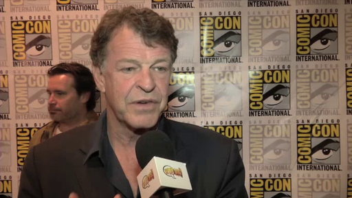 John Noble in the Press Room