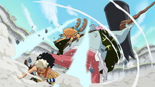 One Piece 561: A Massive Confused Fight! the Straw Hats vs. the New Fish-Man Pirates!