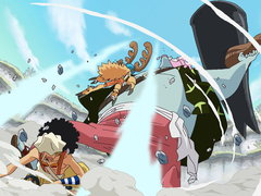 (Sub) A Massive Confused Fight! the Straw Hats vs. the New Fish-Man Pirates! image