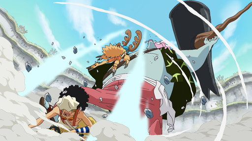 A Massive Confused Fight! the Straw Hats vs. the New Fish-Man Pirates!
