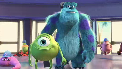 Movie Trailers - Monsters, Inc. 3D