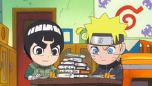 Naruto Spin-Off: Rock Lee & His Ninja Pals 22: Always Do Your Homework at the Last Minute! / Class 3-Lee!  We Are Team Guy!