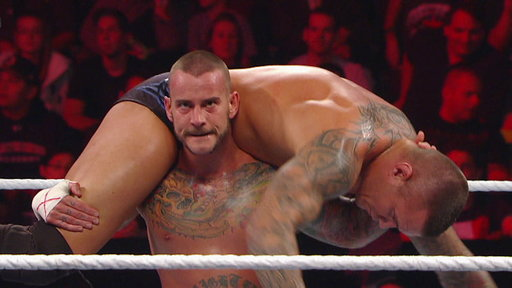 Randy Orton vs. WWE Champion CM Punk