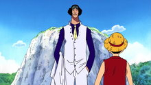 One Piece 227: (Sub) Navy Headquarters Admiral Aokiji! the Ferocity of an Ultimate Powerhouse!