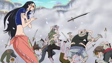 One Piece 565: (Sub) Luffy's All-out Attack! Red Hawk Blasts!