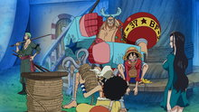 One Piece 574: (Sub) To the New World! Heading for the Ultimate Sea!