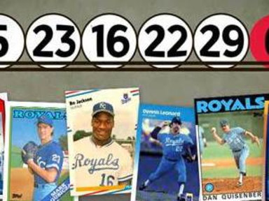 Powerball Numbers Match Royals Hall of Famers