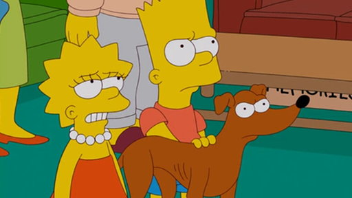 Homer's Childhood Dog