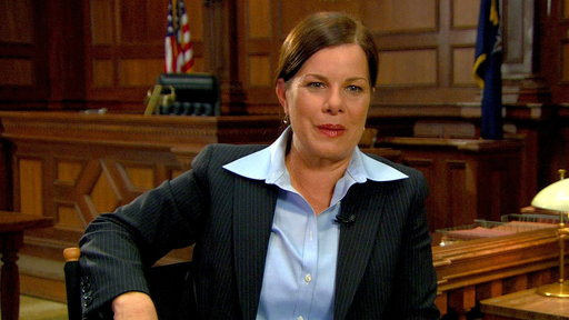 Marcia Gay Harden Talks SVU