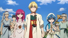 Magi 18: Kingdom of Sindria