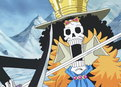 One Piece: (Sub) A Swordplay Showdown! Brook vs. the Mysterious Torso Samurai!