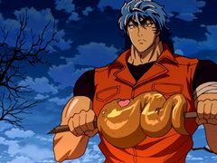 (Dub) The Undiscovered Giant Beast! Toriko, Capture a Gararagator! Image