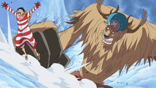 One Piece 593: (Sub) Save Nami! Luffy's Fight On the Snow-Capped Mountains!