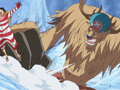 (Sub) Save Nami! Luffy's Fight On the Snow-Capped Mountains! image