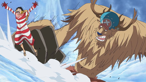 Save Nami! Luffy's Fight On the Snow-Capped Mountains!
