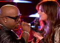 The Voice: CeeLo Green and Juliet Simms: