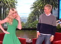 The Ellen Show: Beth Behrs Dances On 'Ellen'!