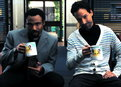 Community: Evil Troy and Abed in the Morning