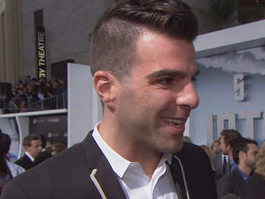 NBCU TV - 'Star Trek Into Darkness' LA Premiere: Zachary Quinto Looks Back
