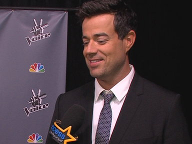 NBCU TV - 'The Voice': Carson Daly Talks Eliminations and Christina Aguilera's Return