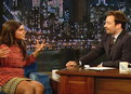 Late Night with Jimmy Fallon: Mindy Kaling Is Aware of Her Surroundings